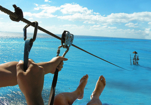 Zipline Over the Sea, Los Cabos, Mexico