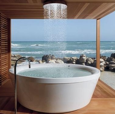 Outdoor Spa Tub, Germany