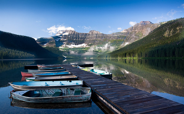 by petez on Flickr.Cameron Lake. Waterton Lakes National Park. Alberta, Canada.