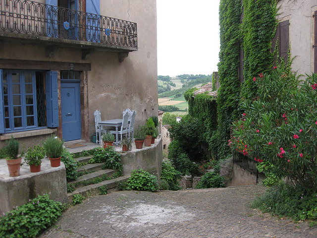 by gabylight on Flickr.In the old village of Cordes sur Ciel, Midi-Pyrenees, France.