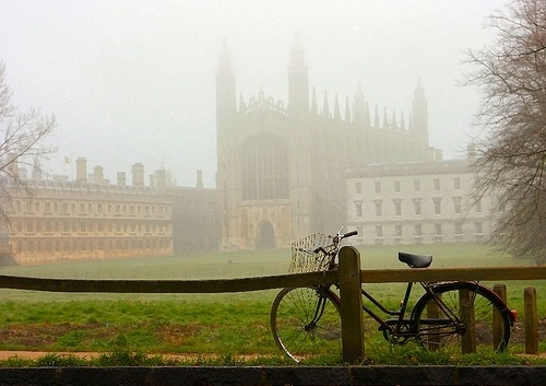 Foggy Day, Cambridge, England