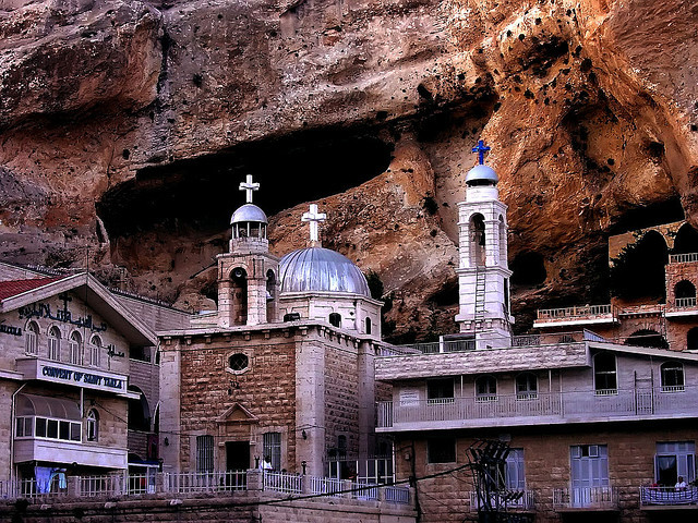 Church and Monastery of St. Takla in Syria