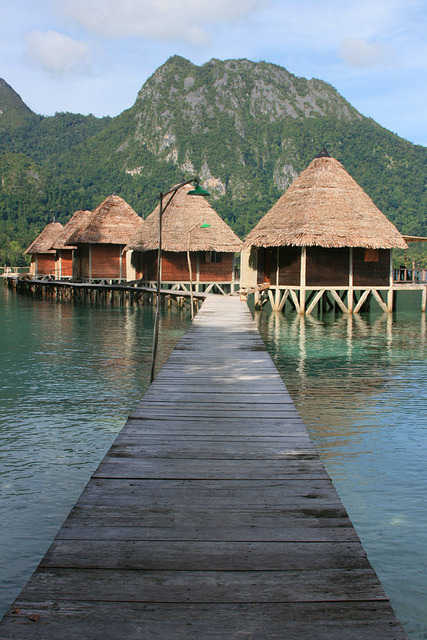 Ora Beach Resort in Maluku Islands, Indonesia