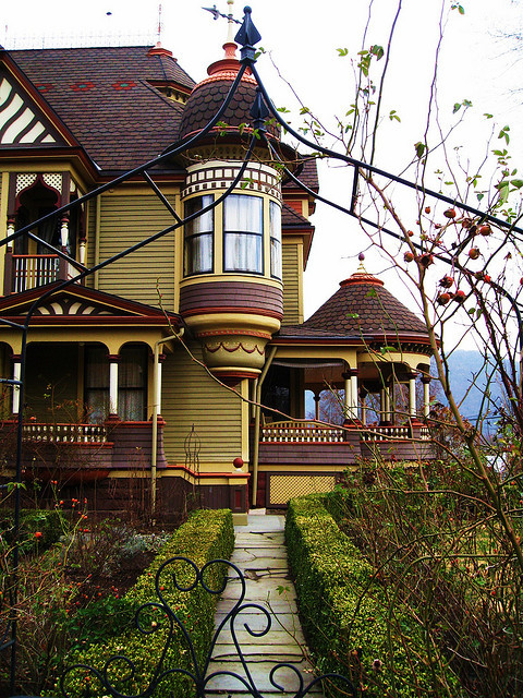 Victorian Mansion in Tunkhannock, Pennsylvania, USA