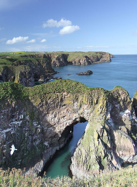 Bullers of Buchan in Aberdeenshire, Scotland . This one is for tastymamacita :)