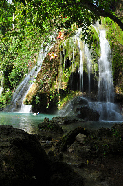 Batlag Falls, popular tourist attraction in Tanay, Philippines