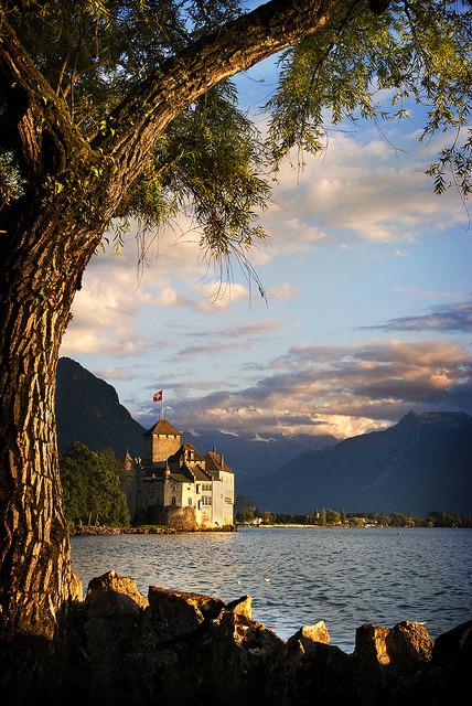 Places I've been: Chateau de Chillon, Switzerland