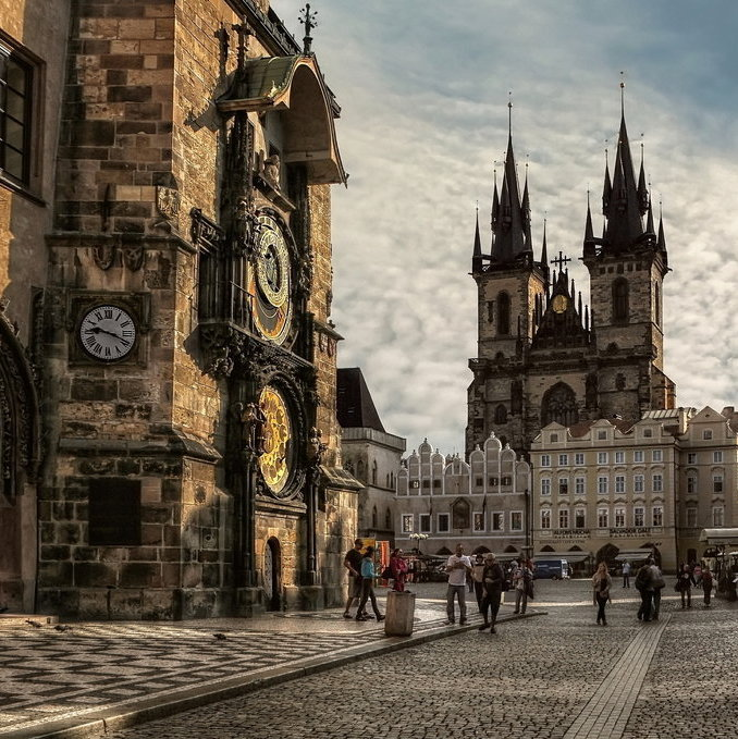 Old Town Square, Prague, Czech Republic