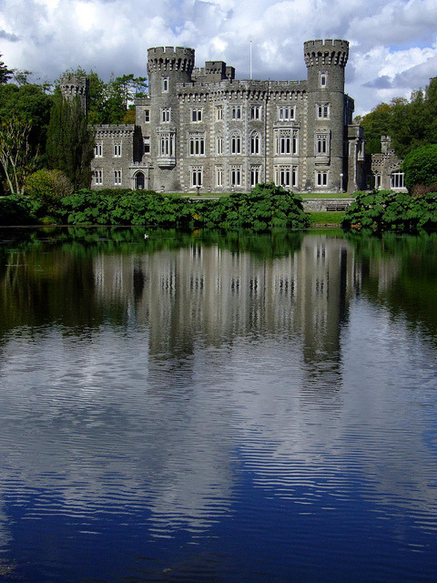 Johnstown Castle in Wexford, Ireland