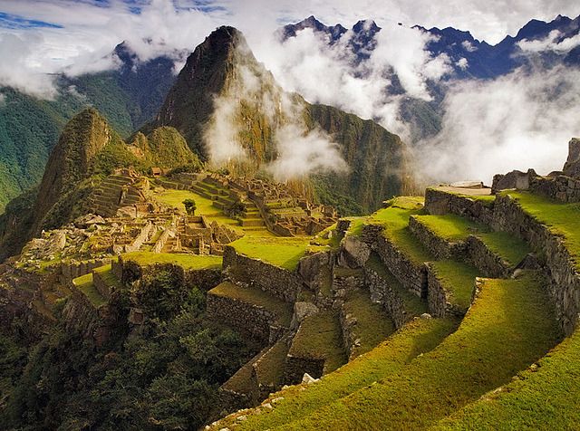 Clearing Storm over Machu Picchu, Peru
